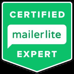 Krzysiek Roznowski Certified MailerLite Expert